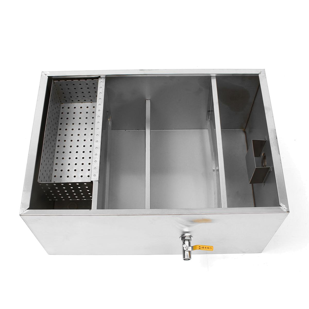 Commercial Kitchen Grease Trap Stainless Steel Jal Water Engineering